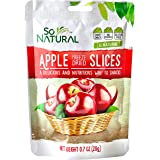 So Natural Freeze Dried Apples, 6 packages of 0.7 Ounces Each