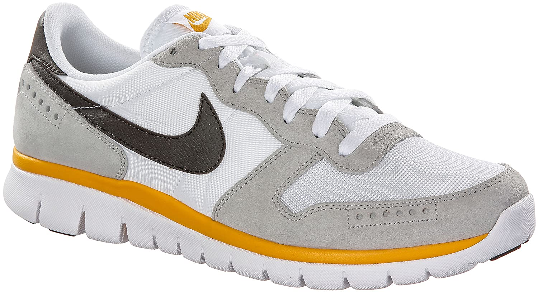 Nike Flex BRS Men's Sneakers, white/yellow: Amazon.co.uk: Sports & Outdoors