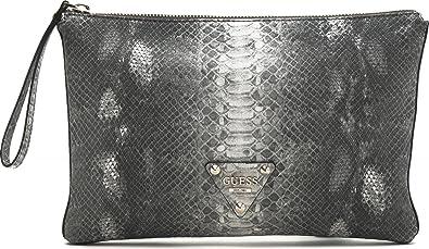 f54673a27b GUESS, pochette, sac de soirée, sac bandoulière, simili cuir, aspect phyton