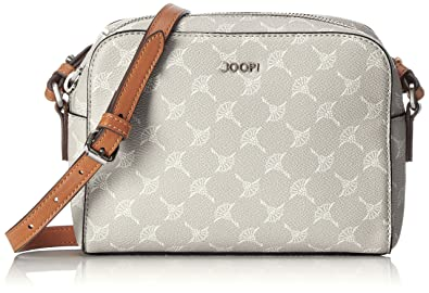 JOOP! Cortina Cloe Shoulderbag Shz, Sacs portés épaule femme, Grau (Light Grey), 6x15x21 cm (B x H T)