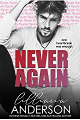 Never Again Kindle Edition