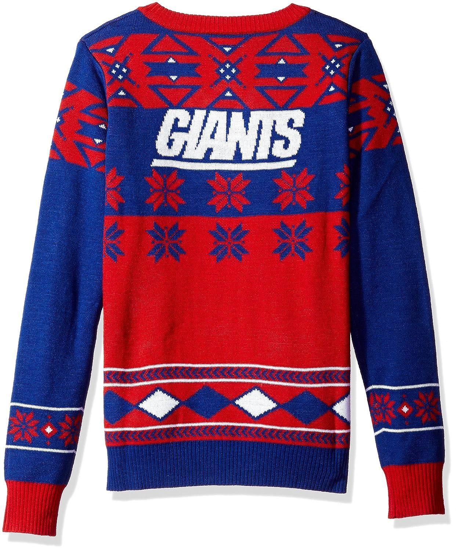 Amazon.com : NFL Women\'s V-Neck Sweater, New York Giants, Medium ...