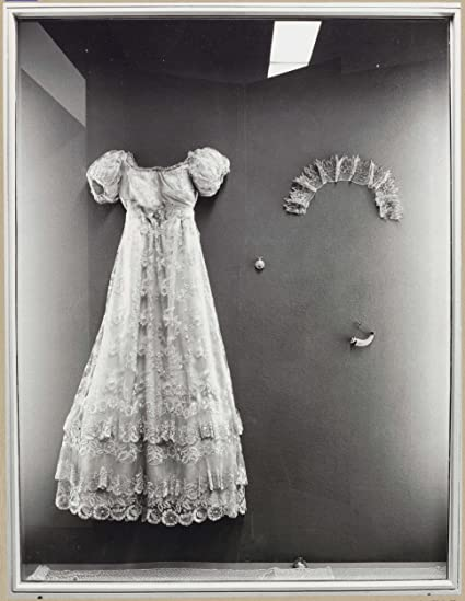 Amazon.com: Classic Art Poster - Display case with items of lace ...