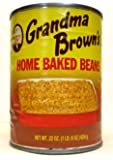 Grandma Brown's Home Baked Beans (Pack of 6) 22 oz Cans