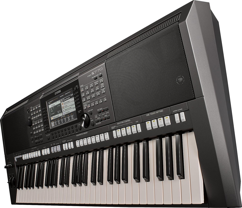 yamaha psr s770 61 key arranger workstation musical