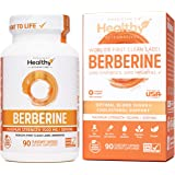World's First Clean Label Berberine® 1500mg - Highest 98% Purity in The US - 100% Naturally Sourced, Non-GMO, Made in USA - Y