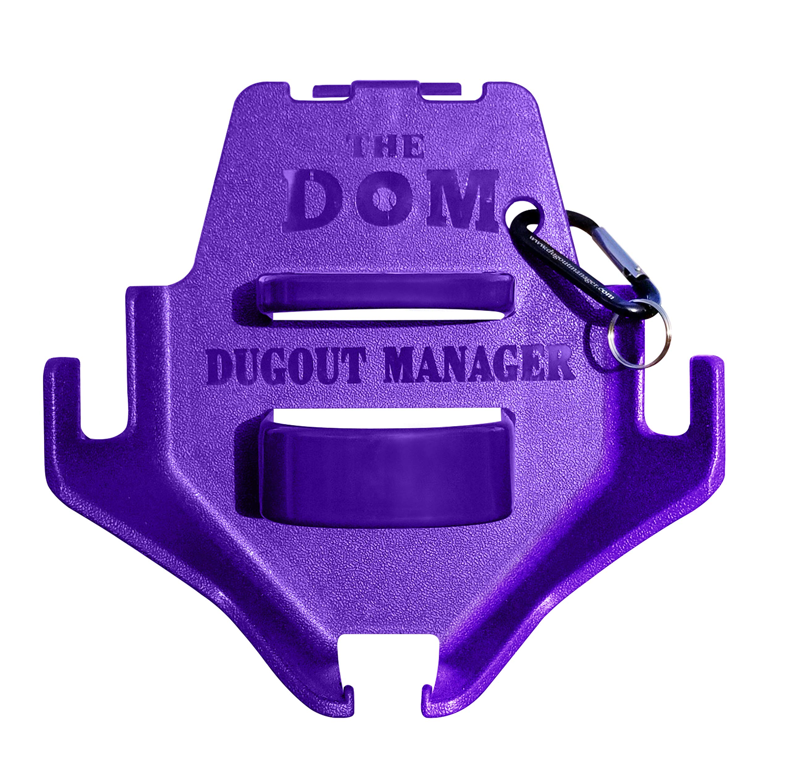 Dugout Organizer the DOM Purple (11 count) by THE DOM