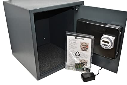 Amazon com: Time Lock Safe Large: Home Improvement