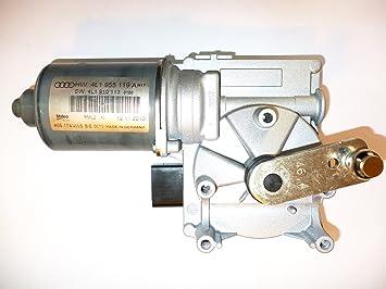 Motor para limpiaparabrisas de coche Audi Q7 2007 - 2012 OEM Nueva 4l1995119 a: Amazon.es: Coche y moto