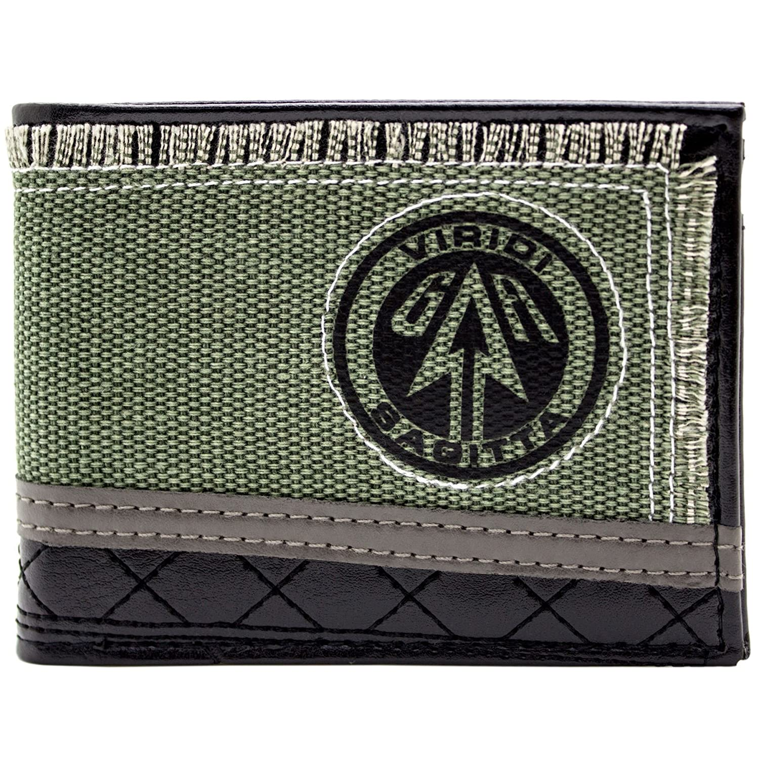 Cartera de DC Green Arrow viridi Sagitta Verde 28851