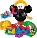 Disney Mickey Mouse Clubhouse - Fly 'n Slide Playset - Fisher Price Toy - Minnie and Mickey Figure