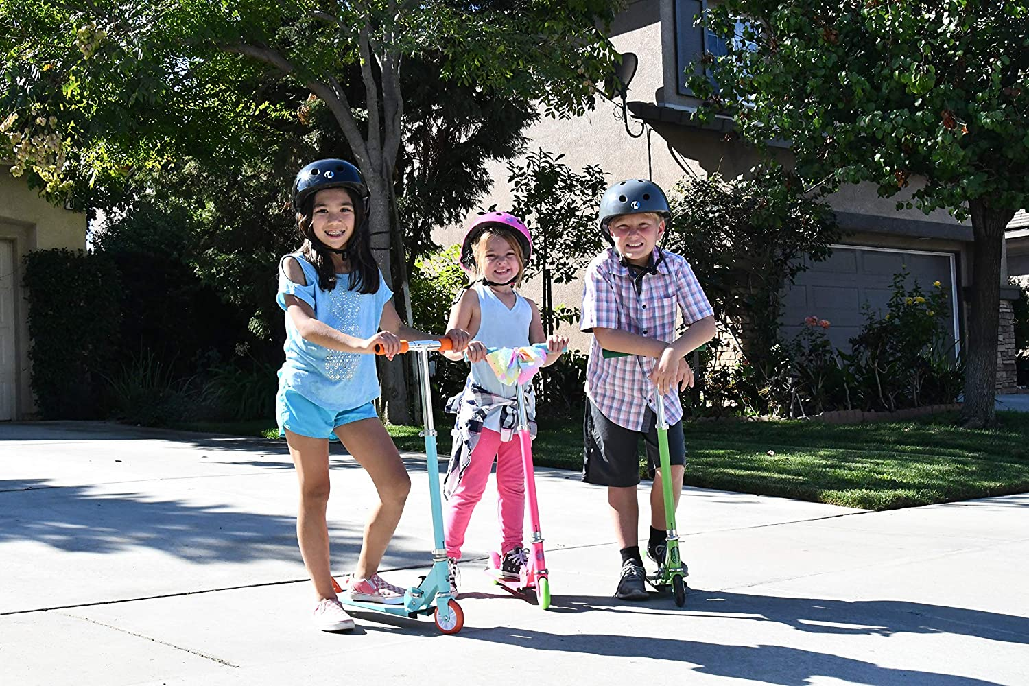 Amazon.com: PlayWheels JoJo - Patinete de 2 ruedas de ...