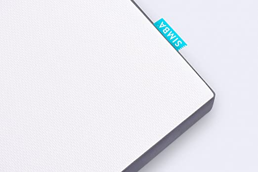 Simba Hybrid® - Colchón con memoria de forma, 2.500 muelles ensacados, 90 x 190 cm: Amazon.es: Hogar