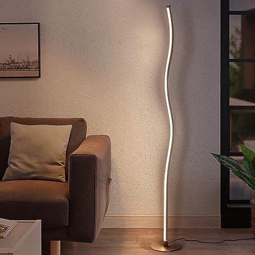 Albrillo Spiral Design LED Floor Lamp