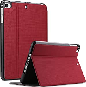 ProCase iPad Mini Case for iPad Mini 5 2019/ Mini 4, Mini 1 2 3, Slim Stand Protective Folio Case Smart Cover for iPad Mini 5/4/3/2/1 -Red