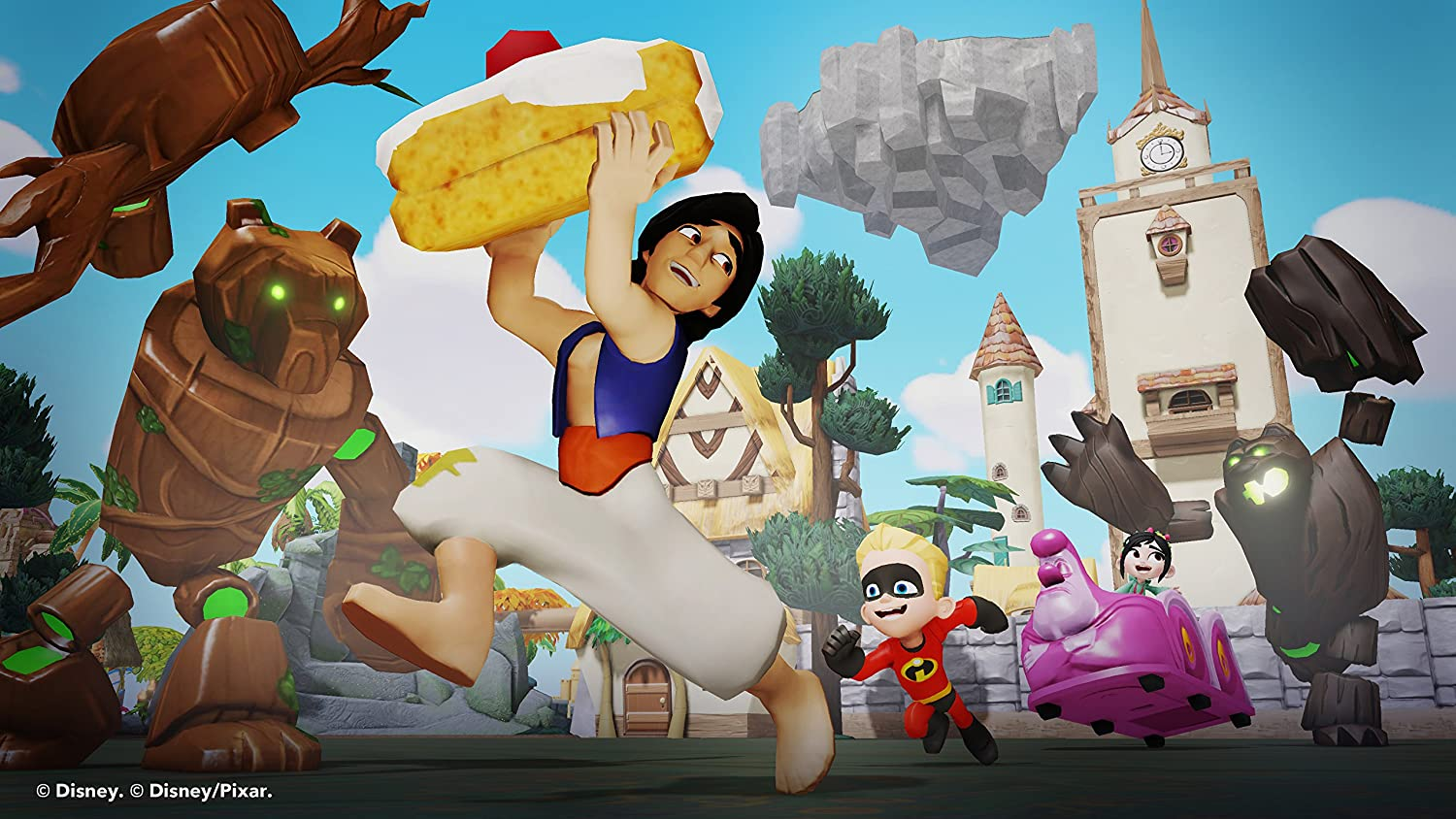 Disney Infinity 2.0 Aladdin Figure (Xbox One/360/PS4/Nintendo Wii ... for Aladdin All Characters  557yll