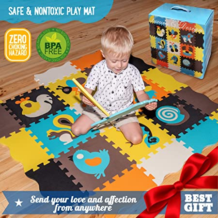 Baby Play MAT Baby MAT Kids Rug Play MAT Game MAT Floor Tile Foam Pads Foam Padding Rug Kids Kid Rug Tile Flooring Baby Floor MAT Crawling MAT Interlocking MATS Baby