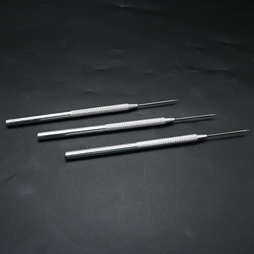 Pengxiaomei 2 Piece Clay Needle Tools Ceramic Detail Tools Clay Modeling Sculpture Playdough Pro Needle Detail Tools
