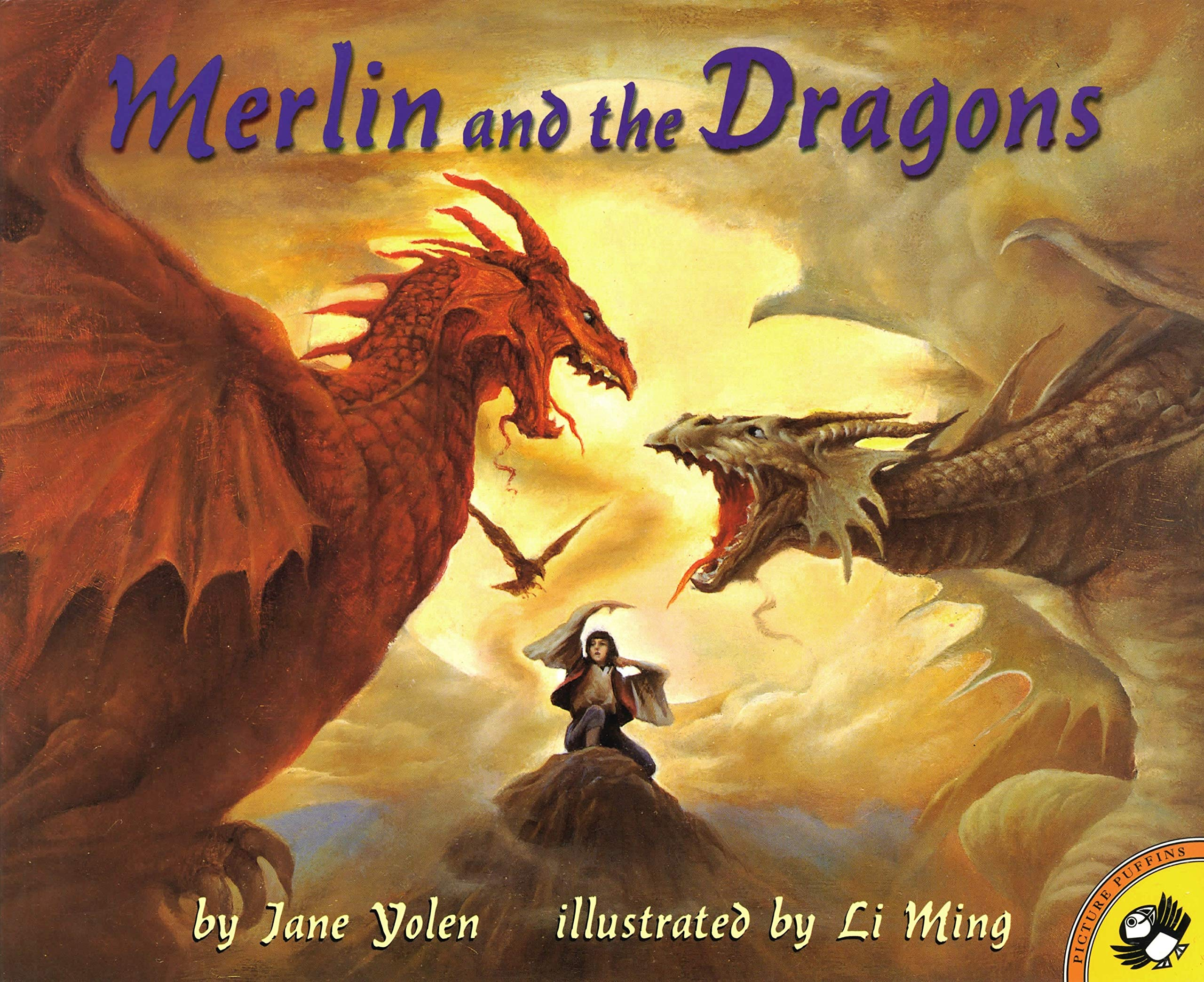 Merlin and the Dragons (Picture Puffin Books): Yolen, Jane, Ming ...