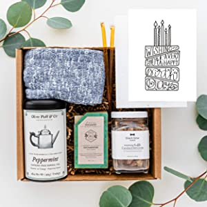 UnBoxMe Happy Birthday Care Package For Men | Quarantine Birthday Gift Basket For Men | For Dad, Boyfriend, Boss, Boyfriend, Employee, Coworker | Birthday Gift Ideas (Happy Birthday Card)