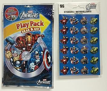 Marvel Avengers Assemble Sticker Pack=96: Amazon.es: Juguetes ...