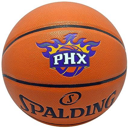 2cb20c9238a Amazon.com : Spalding NBA Suns Basketball Game Ball Series Team ...