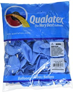 """Qualatex 43697 Pale Blue Latex Balloons, 9"""", Pale Blue, Pack of 100"""