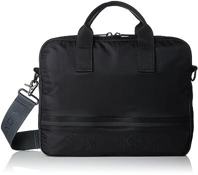 60ed18915e Calvin Klein Matthew 2.0 Laptop Bag, Sacs pour ordinateur portable homme,  Noir (Black