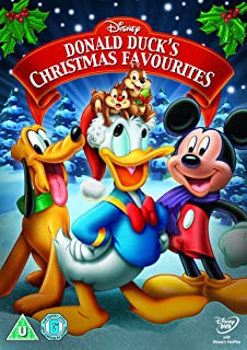 donald ducks christmas favourites dvd - Mickey Mouse Christmas Movie