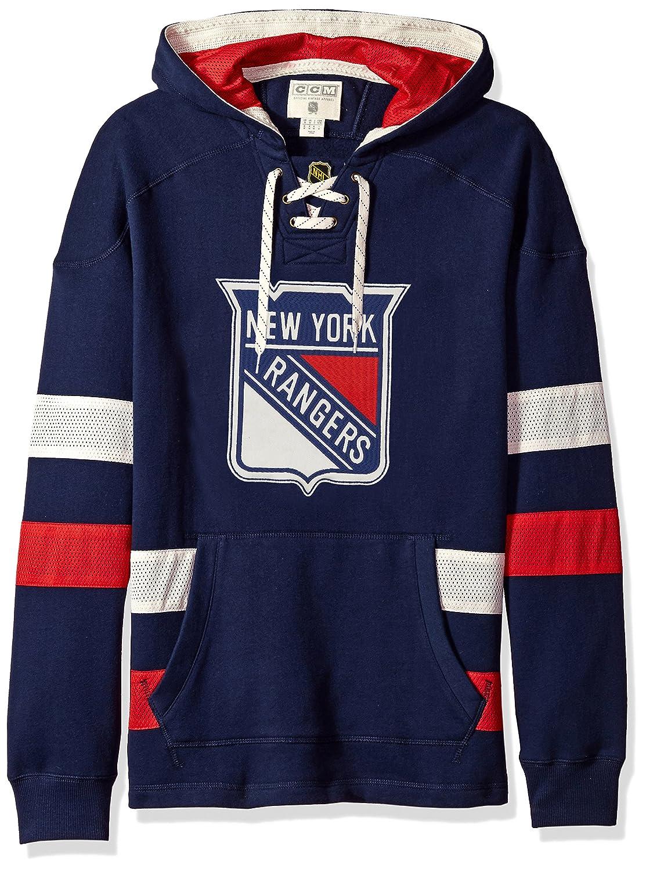 CCM Pullover Hood New York Rangers Senior Gr/ö/ße:L