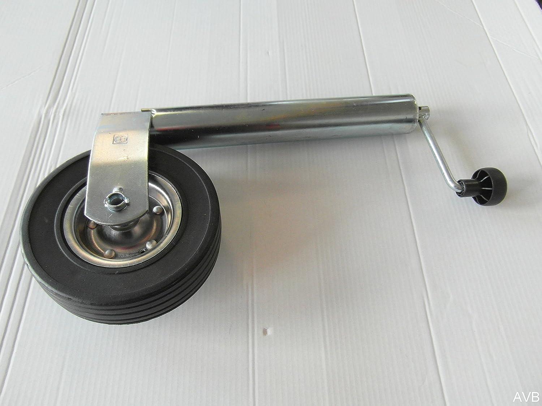 Stützrad Bugrad 60mm Für 300kg Stützlast Schwerlaststützrad Für Pkw Anhänger Auto