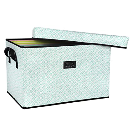 Amazoncom SCOUT Rump Roost Large Lidded Storage Bin Collapsible