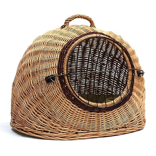 Wicker Cat Basket Amazon Co Uk