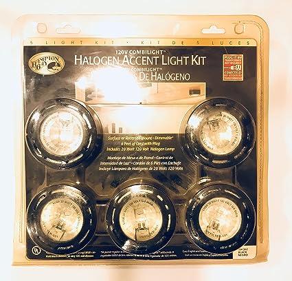 120V Combilight Halogen Accent Lights; 5 Light Kit - Halogen Bulbs - Amazon.com