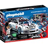 Playmobil 9225 Porsche 911 GT3 Cup with Racing Command Station,Multicolor