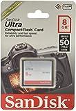 Sandisk Ultra - Flash Memory Card - 8 GB - CompactFlash (SDCFHS-008G-A46)