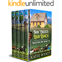 Twin Creek's Rain Ranch Romance Series: Collection One Four Sweet Novels (Box Set Complete Series Book 40)