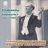 チャイコフスキー : 交響曲 第5番 他 (Tchaikovsky : Symphony No.5, Capriccio Italien / Yevgeny Mravinsky & Leningrad Philharmonic Orchestra)