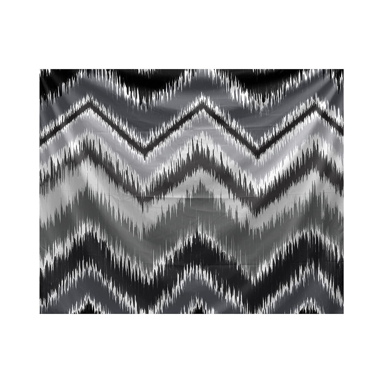 E by design Ikat-Arina Stripe Print Tapestry 80 x 60 Cadet
