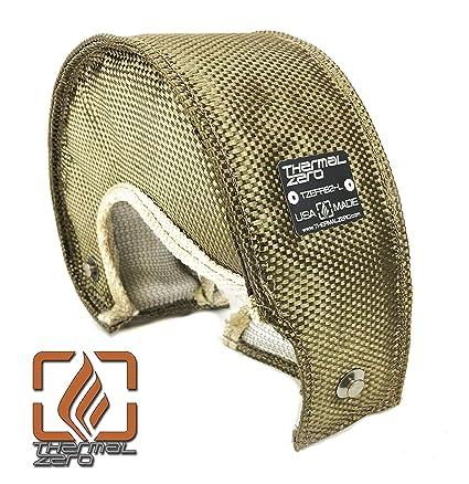 Amazon.com: Thermal Zero Lava EFR B1 turbo blanket heat shield cover. Fits Borg Warner EFR internally wastegated turbochargers: 7163 6758 6258: Automotive