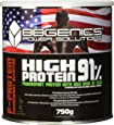 BB Genics High Protein 91 - hoechste Qualitaet, aus MilcheiweissŸ, Molkeneiweiss (Whey) & Eieiweiss, Schoko, 750g Dose, SP-EW0212