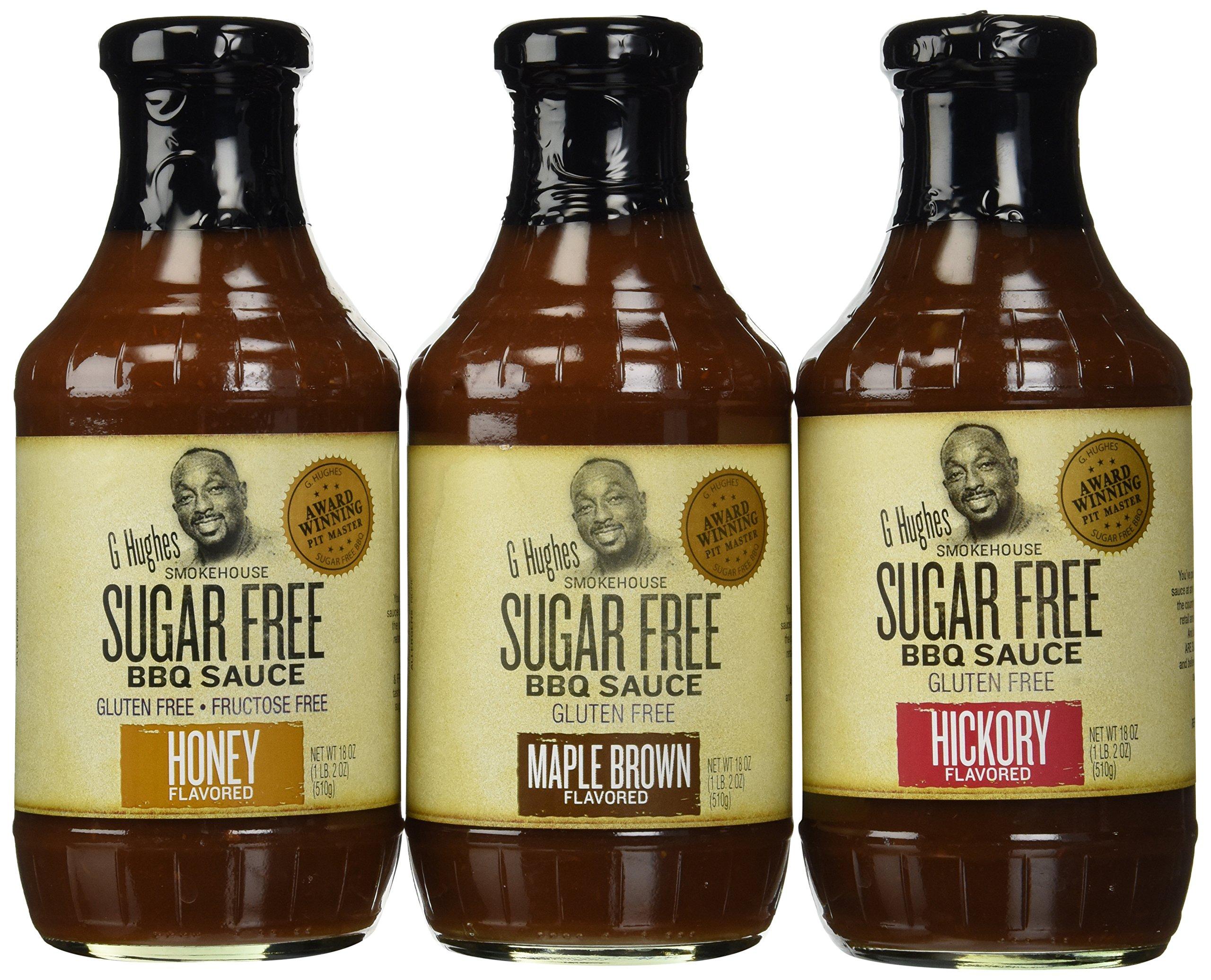 Amazon Com G Hughes Ketchup Sugar Free 13 Oz Grocery