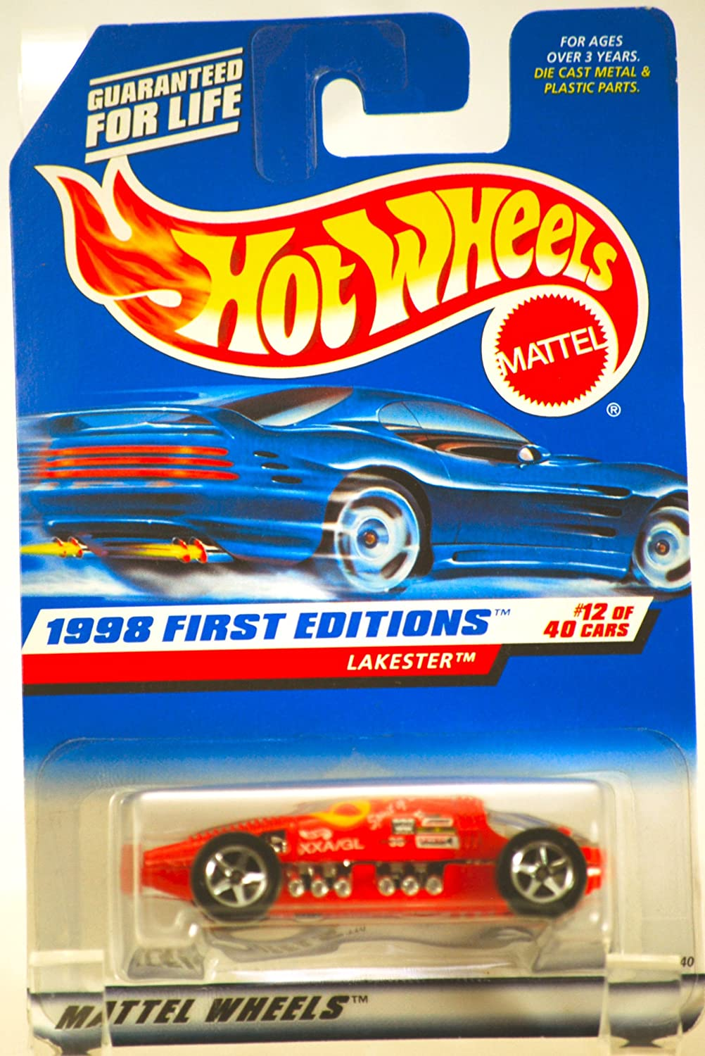 Mattel Hot Wheels 1998 First Editions 1:64 Scale ROT Tow Jam Die Cast Car  025