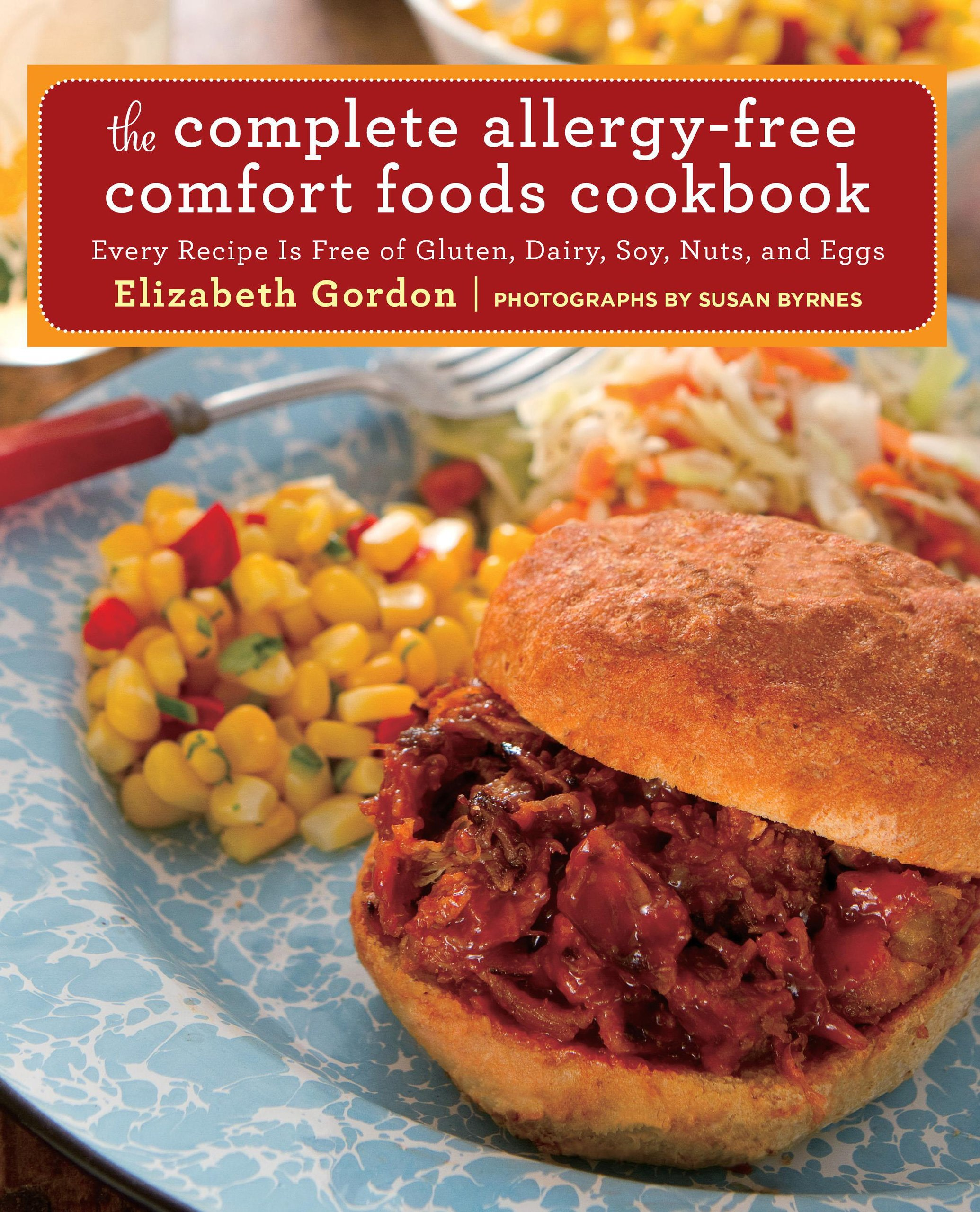 Complete Allergy Free Comfort Foods Cookbook product image