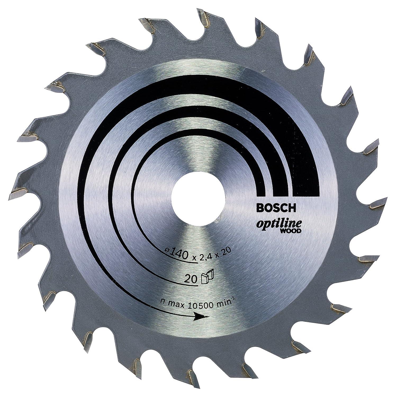 24 Bosch 2 608 640 618 pack de 1 Hoja de sierra circular Optiline Wood 200 x 30 x 2,8 mm