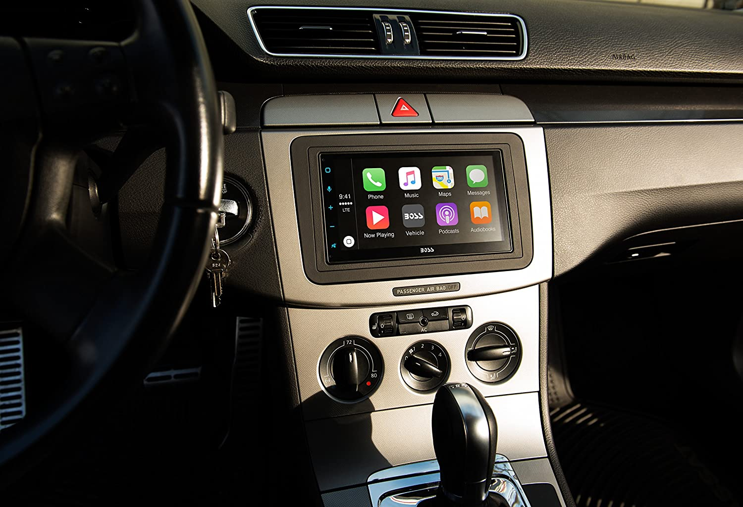 Boss Audio Bvcp9675a Double Din Apple Carplay Android Bose Car Lcd Wiring Auto Bluetooth 675 Capacitive Touchscreen Mech Less No Cd Dvd Am Fm Receiver