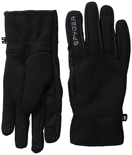 529bff7239 Amazon.com   Spyder Men s Core Sweater Conduct Gloves   Sports ...