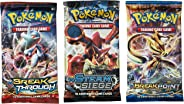 Pokemon TCG: 3 Booster Packs – 30 Cards Total| Value Pack Includes 3 Blister Packs of Random Cards | 100% Authentic Branded P