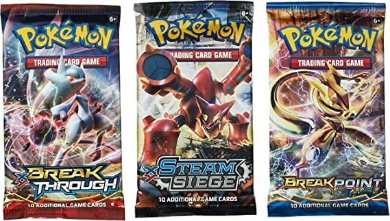 Unweighed 3 Card Packs 15 Different Pokemon Packs GREAT STOCKING STUFFERS !