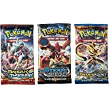 Pokemon Random Booster Cards, Pack of 3